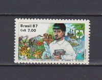 s19225) BRASILE BRAZIL 1987 MNH** Nuovo** Brasilia book 1v