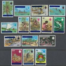 Tuvalu 1976 ** Mi.1/15 Freimarken Definitives [sq6634]