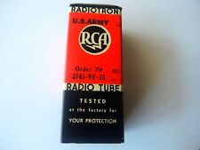 6K7 RCA VT-86 vintage vacuum pentode tube valve US Army NOS