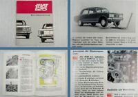 Fiat 125 PKW Betriebsanleitung Bedienungsanleitung 1967
