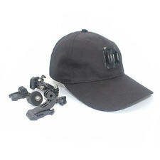 Man Hat Baseball Cap Holder Three Hook Buckle Mount for Mobius #16 GoPro Camera