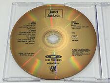 CD Video CDV Promo - Janet JACKSON - Nasty - NTSC - A&M 001