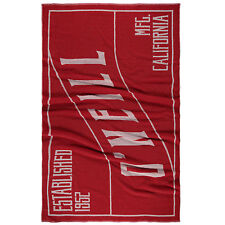 O'NEILL MENS WOMENS TOWEL.LARGE RED COTTON SUMMER SURFER BEACH MAT 7S/252/3077