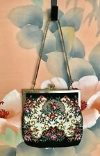 Vintage Small Tapestry Purse 1960s