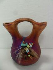 Raku Pottery Wedding Vase (3in) By Artist Jeremy Diller