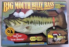 Big Mouth Billy Bass Sings For The Holidays