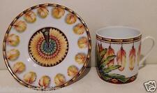 Tazza Té Hermes Porcellana Patchwork Xing - Piattino Brazil