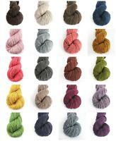 Tibetan Yak worsted weight hand knitting yarn colored baby yarn DIY crochet