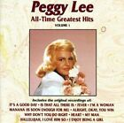 Peggy Lee : All Time Greatest Hits Vocal 1 Disc CD photo