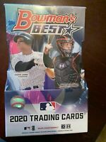 2020 Bowman's Best Baseball Hobby Box Break! $15, RANDOM team, live draw!