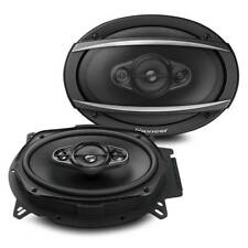 "New Pioneer TS-A6960F 450 Watts 6"" x 9"" 4-Way Coaxial Car Audio Speakers 6x9"""