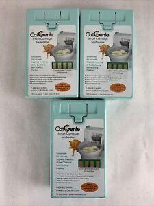 CatGenie Smart Cartridge SaniSolution Lot of 3