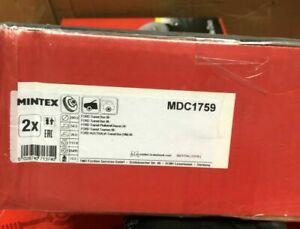 FRONT BRAKE DISCS x2 280mm FITS FORD Transit Mk6 Tourneo Mk6 MINTEX MDC1759