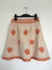 Aryn K Anthropologie embroidered ladies fabulous skirt Size XS