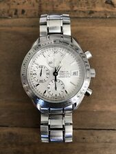 Gently Used OMEGA Speedmaster Date Steel Automatic Watch 3211.30