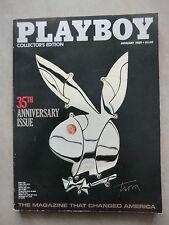 PLAYBOY (US)   1 - 1989   BRIGITTE BARDOT - SOPHIA LOREN