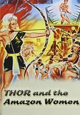 Thor and the Amazon Women [New DVD]