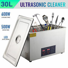 Preenex 304 Steel 30l Liter Industry Heated Ultrasonic Cleaner Heater With Timer