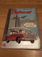 The Autocar Magazine, 18th October 1957 London Show Report Morris Oxford