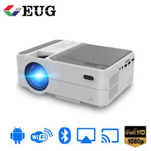 4000Lumens LED Android 6.0 Projektor Blue-tooth Mini Film HD Video Heimkino HDMI