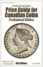 *** NEW *** 9th Edition Price Guide for Canadian Coins - Professional Edition