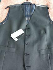 Business Big & Tall Button Regular Length Waistcoats for Men