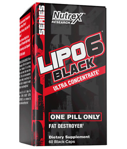 Lipo6 Black Ultra Concentrate One Pill Only, 60 Caps