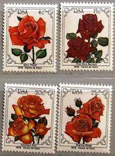 RSA SÜDAFRIKA SOUTH AFRICA 1979 562-65 4 Welt Rosen Kongress Blumen Flowers MNH