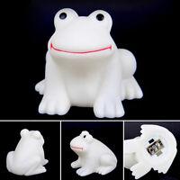 1X Magic LED Night Light Frog Shape Colorful Changing Lamp Rooms Bar Decor Cute