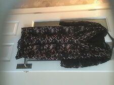 New Black lace Mint Velvet dress size 16 without tags