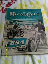 Motor Cycle(oct1953) Vincent