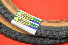 Nos Tioga Comp 3 III tires old school bmx 20x1.75 1980s black-brown Pair Japan