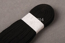 Black Synthetic Silk Ito Sageo Wrapping Cord for Japanese Samurai Sword maintain