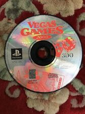 vegas games 2000 sony playstation 1 Disc Only