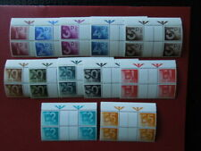 G1969   GREAT  BRITAIN 1982  POSTAGE  DUE SG  GUTTER BLOCK OF 4  D  90 -101  MNH