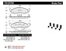 Posi-Quiet Metallic Disc Brake Pad w/Shims & Hardware fits 1993-2002 Nissan Ques