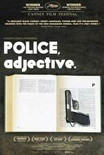 POLICE, ADJECTIVE Movie POSTER 27x40 Dragos Bucur Vlad Ivanov Ioan Stoica Irina