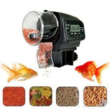 LCD Automatic Fish Feeder Aquarium Fish Tank Auto Feeders Pet Feeding Dispenser