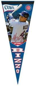 Anthony Rizzo SIGNATURE SERIES Chicago Cubs Premium Felt PENNANT