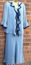 FOSBY DESIGN Grey/Blue Outfit Size 12