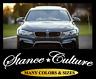 Stance Culture Windshield Banner Vinyl Decal Sticker Window Car White For BMW