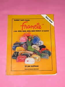 Francie Doll Price Guide Paperback Book by Joe Blitman 1996