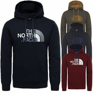 The North Face Fleece Hoodie Men's Sweatshirt Classic Top Drew Peak New Pullover