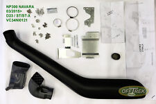NP300 Nissan Navara (to fit) 2015> D23 /  SNORKEL - Raised air intake VC34NI0121