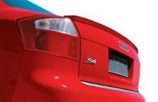 Audi A4 S4 B6 Sedan Rear Trunk Boot Spoiler Lip Wing Sport Trim Lid S Line RS -