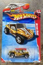 Hot Wheels Gold Meyers Manx Race World Beach Diecast BB