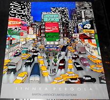 "Linnea Pergola ""Times Square"" Poster"
