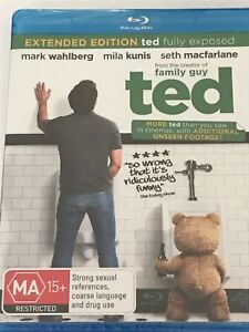 Ted Mark Wahlberg Blu Ray Brand New