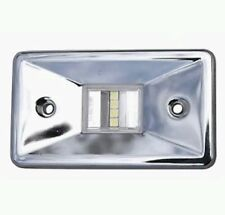 Marpac 7-6561 Transom Stern Boat Light Marine Grade Polished Stainless Steel