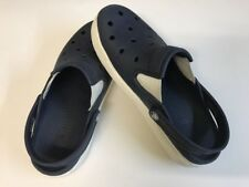 CROCS NAVY/WHITE CITILAND CLOG UNISEX SIZE 5 IN MEN OR 7 IN WOMEN